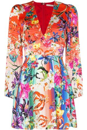 Mary Katrantzou Women Party Dresses - Bloom floral print mini dress