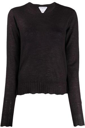 Bottega Veneta Sheer scalloped jumper