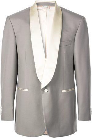 Gucci Satin lapel tuxedo jacket - Grey