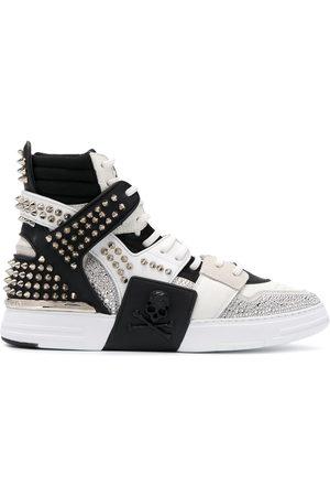 Philipp Plein Phantom Kick$ high top sneakers