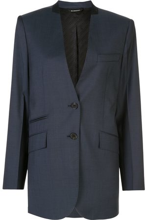 Givenchy Collarless single-breasted blazer