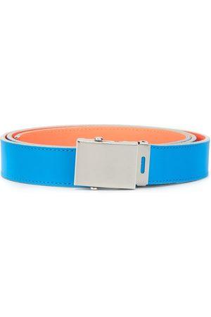 Comme des Garçons Colour block buckled belt