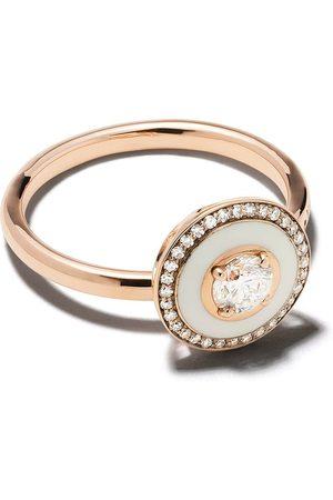 SELIM MOUZANNAR 18kt rose diamond Mina ring