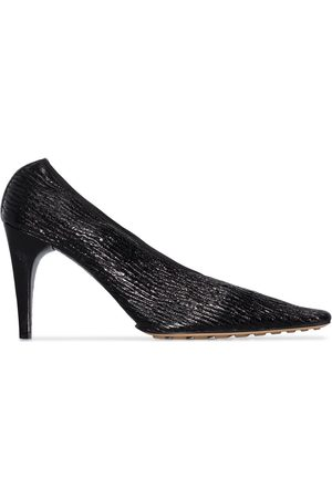 Bottega Veneta 90mm leather pumps