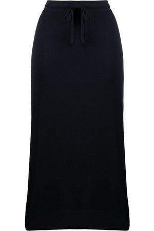 PRINGLE OF SCOTLAND Drawstring midi skirt