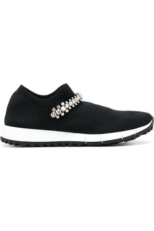 Jimmy choo Women Sneakers - Verona knit embellished sneakers
