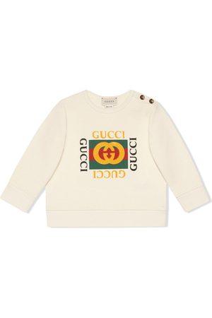 Gucci Hoodies - Baby sweatshirt with Gucci logo