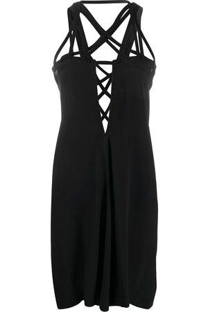 Rick Owens Megalace mini slip dress
