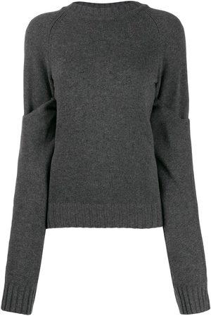 EUDON CHOI Women Sweaters - Slouchy knit jumper - Grey