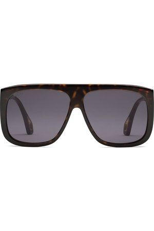 Gucci Men Sunglasses - Square-frame sunglasses with blinkers