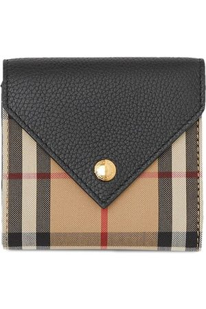 Burberry Vintage Check tri-fold wallet