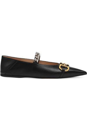 Gucci Horsebit ballerina shoes