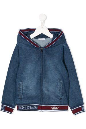 Dolce & Gabbana DG King zipped hoodie