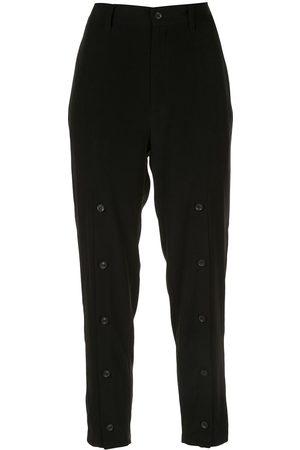 YOHJI YAMAMOTO Tailored cropped trousers