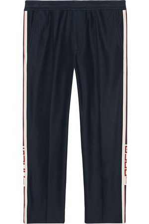 Gucci Men Pants - Jogging pant with stripe