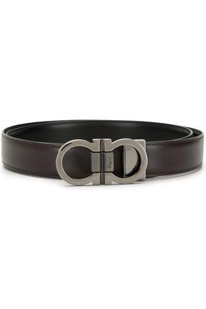 Salvatore Ferragamo Gancini buckle reversible belt