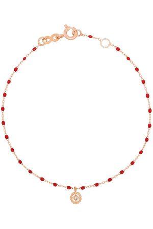 GIGI CLOZEAU 18kt Lucky diamond beaded bracelet
