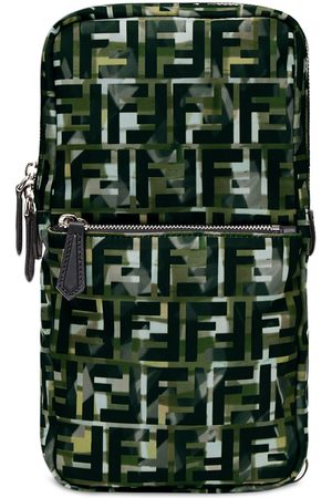 Fendi Camouflage FF print one-shoulder backpack