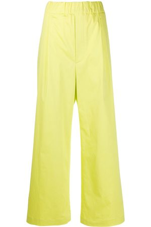 JEJIA Elasticated wide-leg trousers