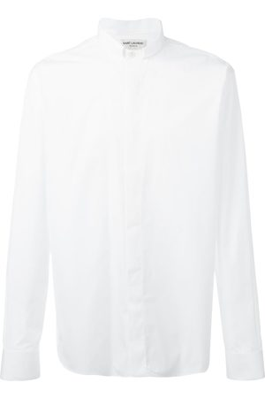 Saint Laurent Tucked collar shirt