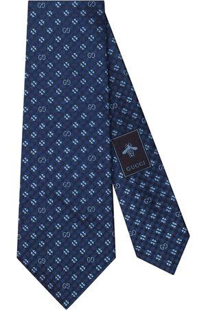 Gucci Shamrock detail tie