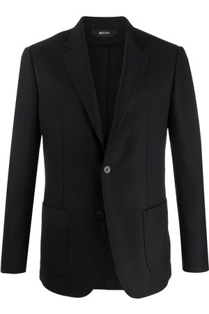Z Zegna Single-breasted formal blazer