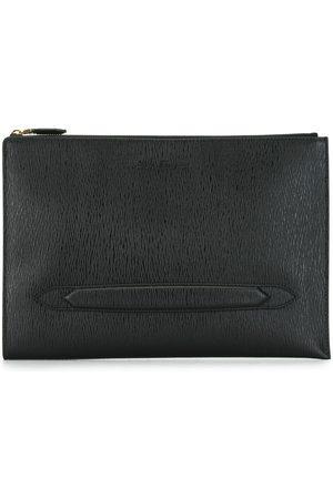 Salvatore Ferragamo Textured clutch