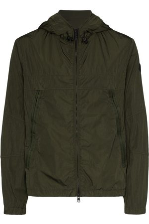Moncler Grimpeurs hooded soft shell ski jacket