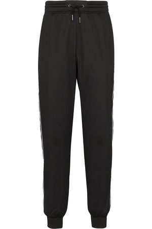 Givenchy Ticker logo tape track pants