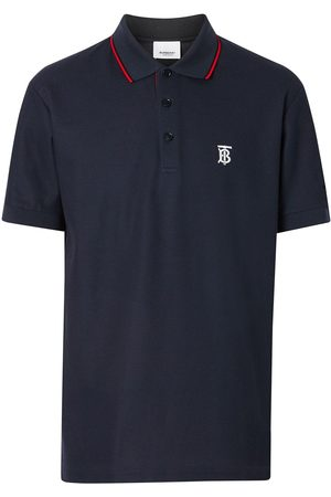 Burberry Icon Stripe placket piqué polo shirt