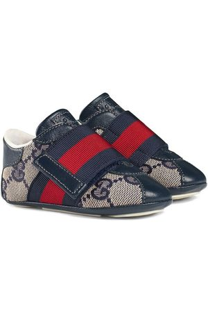 Gucci Sneakers - Baby GG sneaker with Web detail