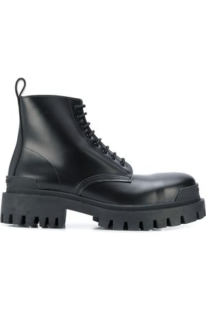 Balenciaga Strike lace-up boots