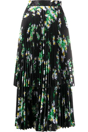 RICHARD QUINN Daisy print midi dress