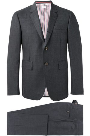 Thom Browne Super 120s twill two-piece suit - Grey