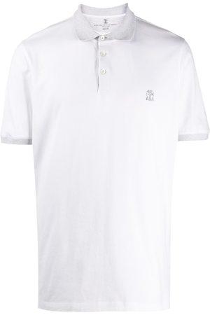 Brunello Cucinelli Two-tone polo shirt