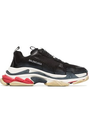 Balenciaga Triple S leather sneakers