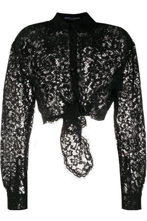 Dolce & Gabbana Sheer lace shirt