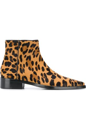 Dolce & Gabbana Women Ankle Boots - Leopard print ankle boots
