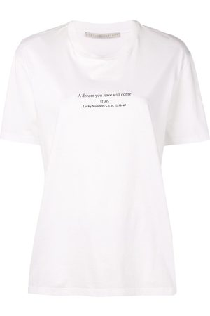 Stella McCartney Women T-shirts - Lucky numbers T-shirt