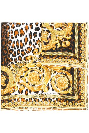 VERSACE Women Scarves - Printed neck scarf