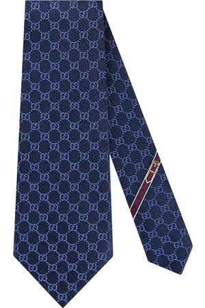 Gucci Men Bow Ties - GG pattern silk tie