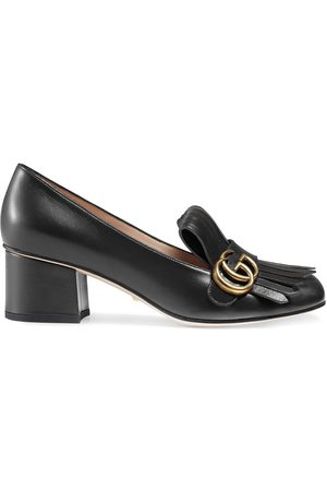 Gucci Women Pumps - Monogram fringe detail pumps