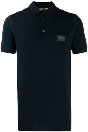 Dolce & Gabbana Men Polo Shirts - Logo patch polo shirt