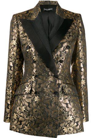 Dolce & Gabbana Women Blazers - Double-breasted jacquard blazer
