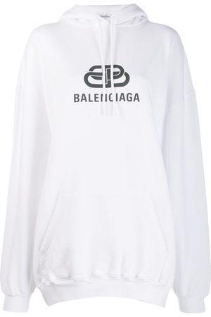 Balenciaga Women Hoodies - BB logo hoodie