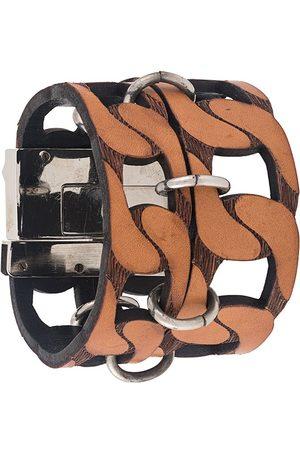 Gianfranco Ferré 2000s cut-out chain style bracelet
