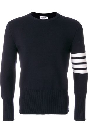 Thom Browne Men Sweaters - 4-Bar Milano Stitch Pullover