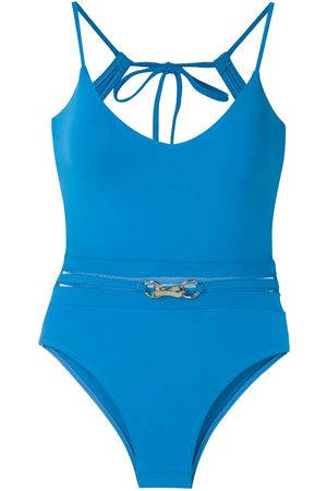 AMIR SLAMA Metallic embellishment swimsuit