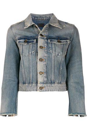 Saint Laurent Stonewashed denim jacket