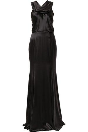 Dolce & Gabbana Silk-blend evening gown